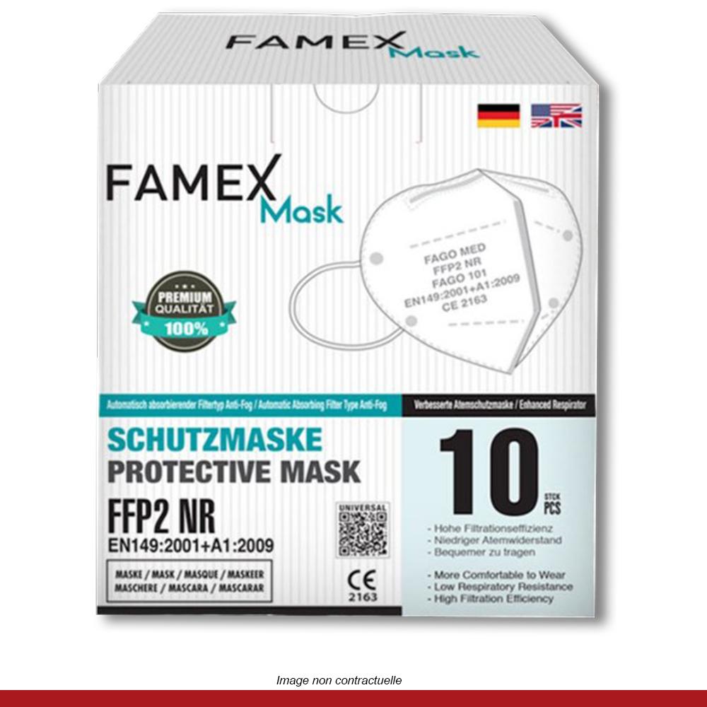 boite-10-masques-protection-FFP2-européen-famex