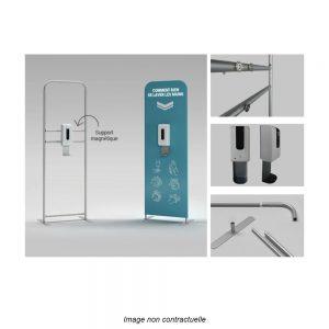 totem-publicitaire-personnalisable-distributeur-gel-hydroalcoolique-brumatisation-sans-contact