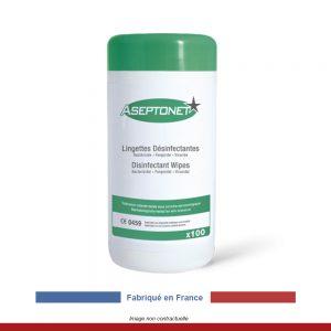 boite-100-lingettes-desinfectantes-aseptonet