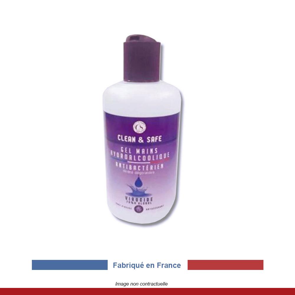 gel-hydralcoolique-fabrication-française-clean&safe-250ml
