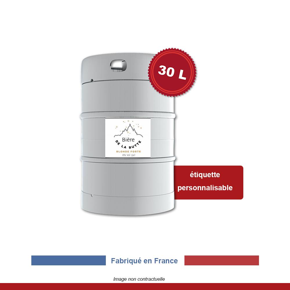 biere-de-la-butte-blonde-forte-fut-30-litres-etiquette-personnalisable