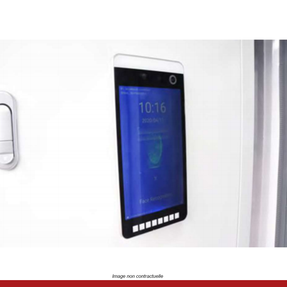 cabine-intelligente-desinfection-prise-de-temperature-ecran-multifonctions