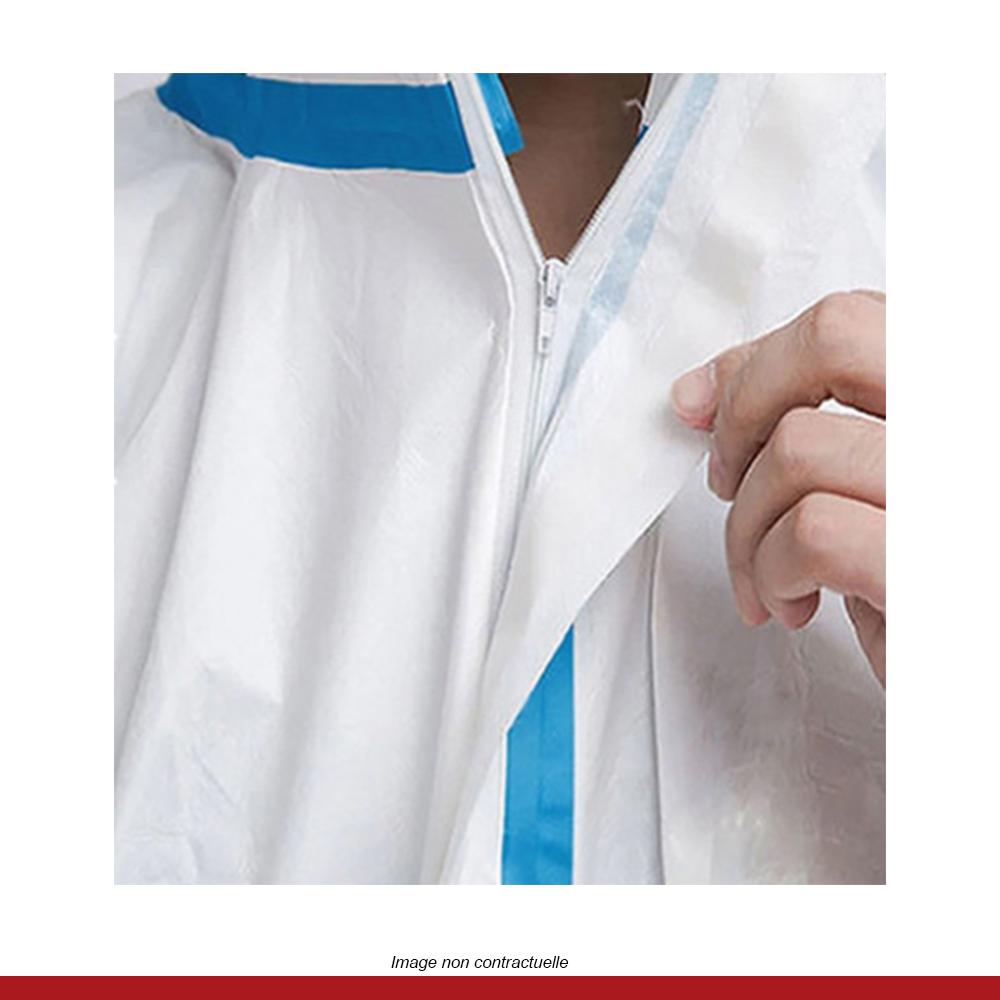 combinaison-protection-medicale-blanche-fermeture-zip