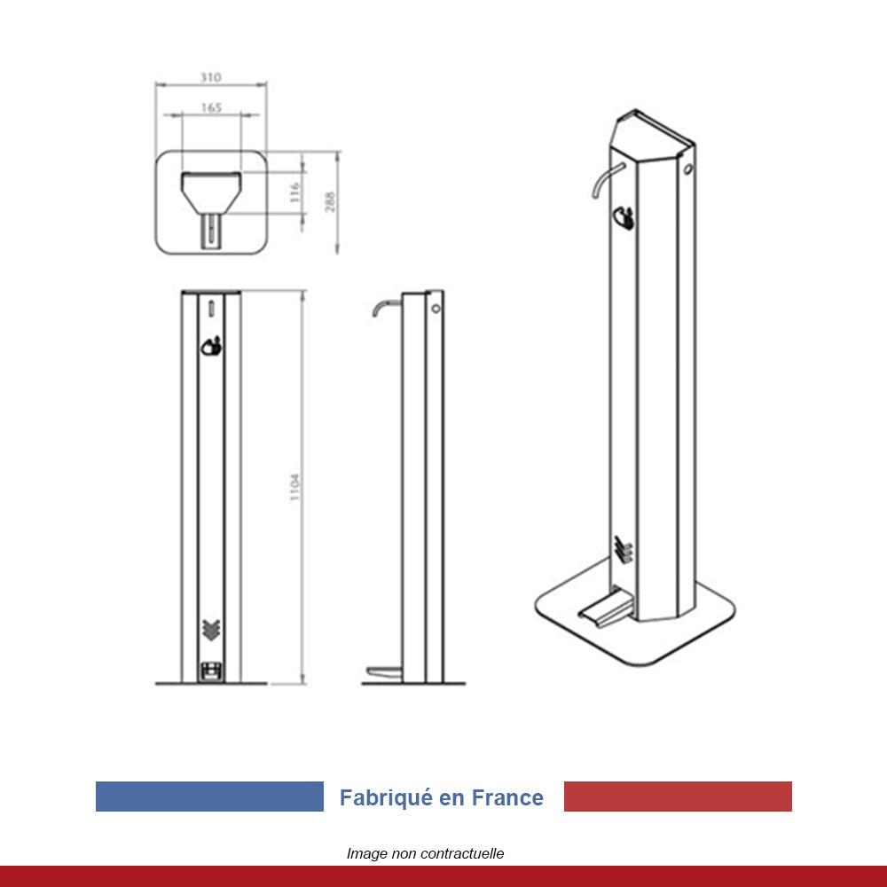 distributeur-gel-hydroalcoolique-sans-contact-a-pedale-5-litres-inox-dimensions