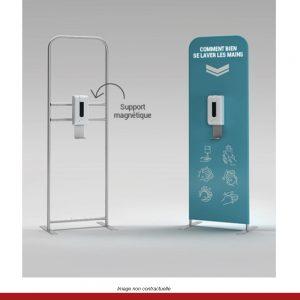 distributeur-solution-hydroalcoolique-totem-publicitaire