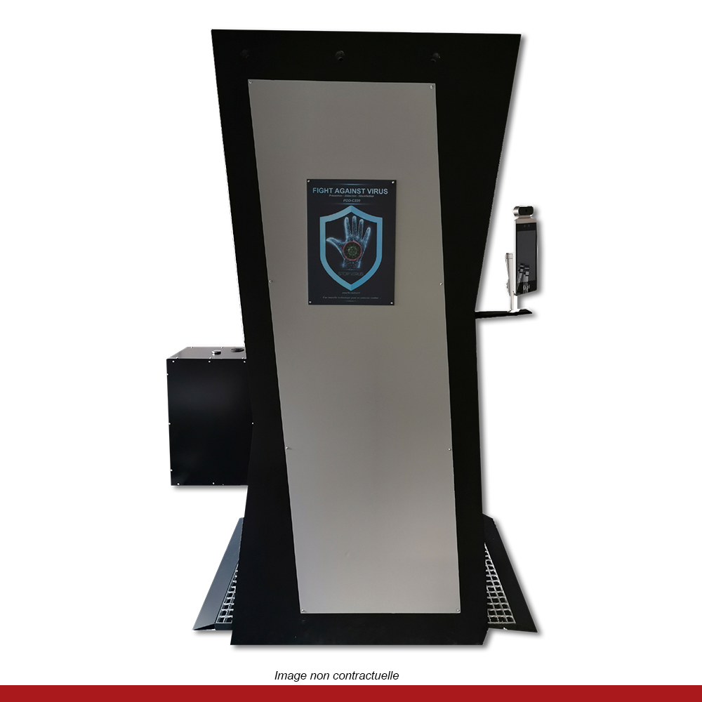 portique-prise-de-temperature-desinfection