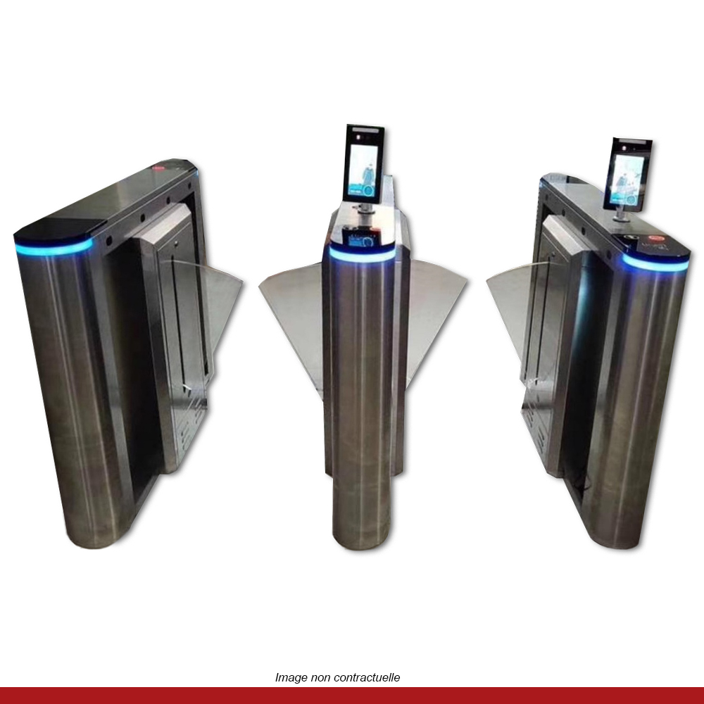 portique-prise-de-temperature-detection-metaux