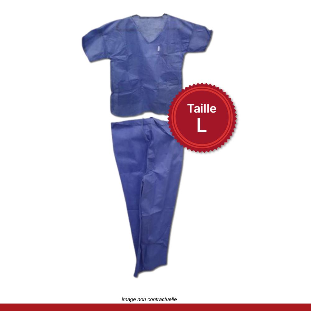 pyjama-medical-bleu-taille-L