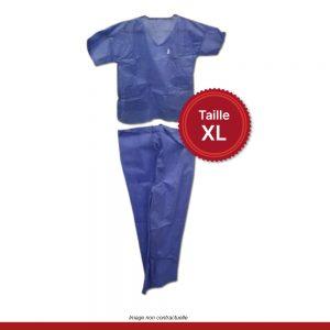 pyjama-medical-bleu-taille-XL