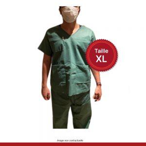 pyjama-medical-vert-3-poches-XL