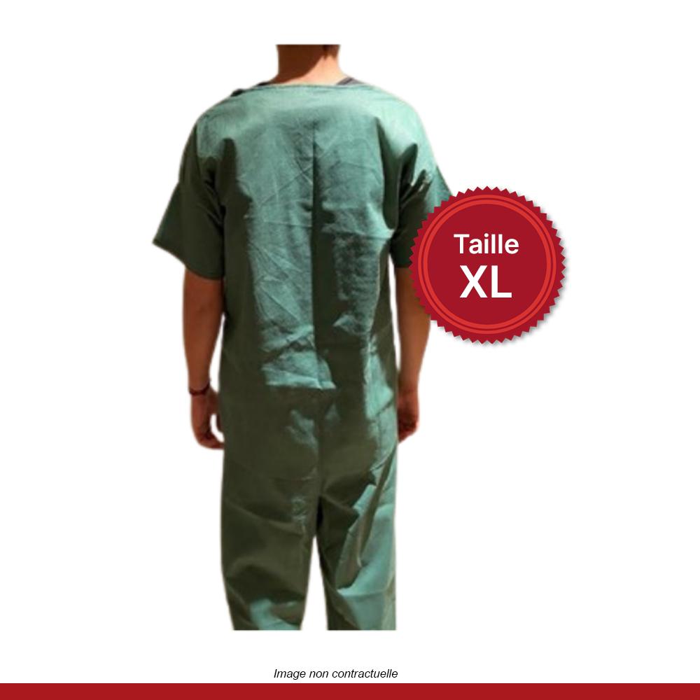 pyjama-medical-vert-dos-XL